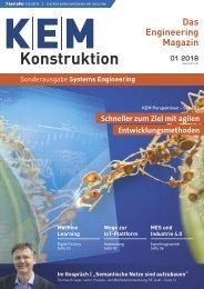 KEM Konstruktion Sonderausgabe Systems Engineering 01.2018