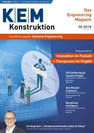 KEM Konstruktion Systems Engineering 02.2018