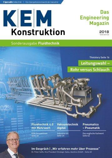 KEM Konstruktion Sonderausgabe Fluidtechnik 2018