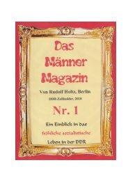 Das Männer-Magazin - Meine Zeit im Metropol-Theater von 1970 bs 1997