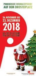 Flyer Weihnachtsdorf