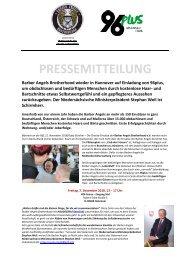 Pressemitteilung Barber Angels_Hannover 96plus_Dezember 2018
