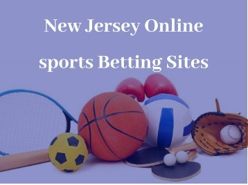 New Jersey Online sports Betting Sites
