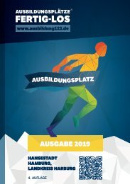 AUSBILDUNGSPLÄTZE - FERTIG - LOS | Hamburg, Harburg 2019