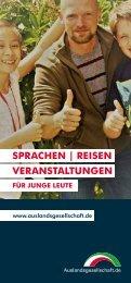 Auslandsgesellschaft.de | Sprachen, Seminare und Austauschangebote für junge Leute