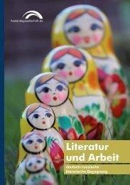 Auslandsgesellschaft.de | Literatur und Arbeit | Deutsch-Russisch-literarische Begegnung in Dortmund