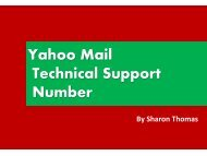 Yahoo Mail Technical Support Number 1877-503-0107