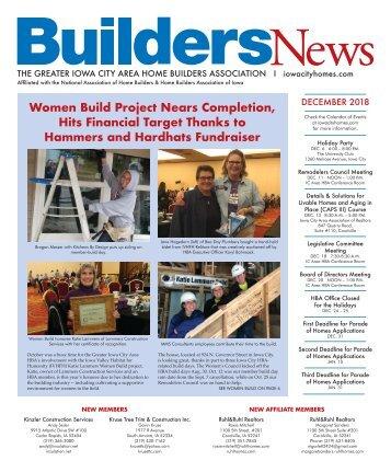 Builders News Dec. 2018