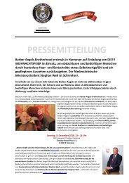 Pressemitteilung Barber Angels_HCC Hannover_Dezember 2018