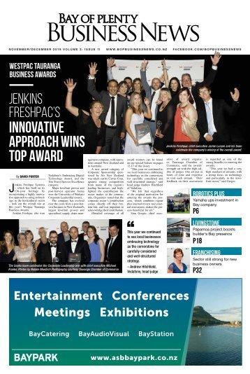 Bay of Plenty Business News November/December 2018