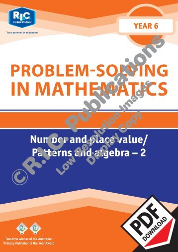 20779_Problem_solving_Year_6_Number_and_place_value_Patterns_and_algebra_2