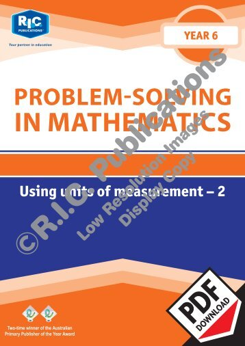 20782_Problem_solving_Year_6_Using_units_of_measurement_2