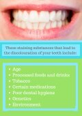 What Creates Discolouration of Your Teeth And How To Treat It? - Page 3