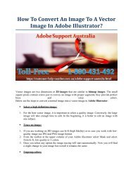 How To Convert An Image To A Vector Image In Adobe Illustrator?