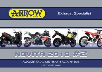 Arrow - nuovi prodotti Ottobre 2018