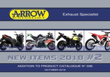 Arrow - New items October 2018
