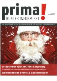 prima! Magazin - Ausgabe Dezember 2012