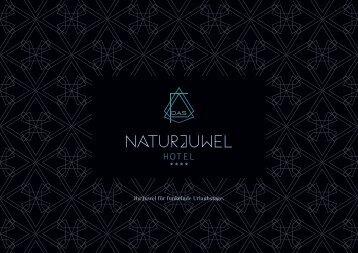 Das Naturjuwel – Hotelprospekt