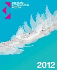 brochure in PDF - Edinburgh International Festival