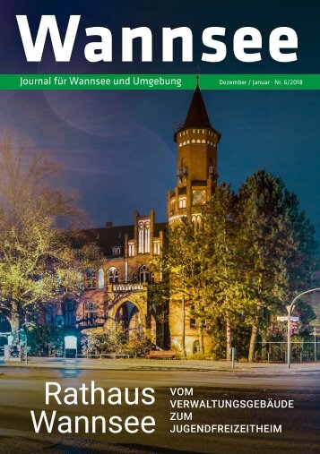 Wannsee Journal Dez/Jan 2018