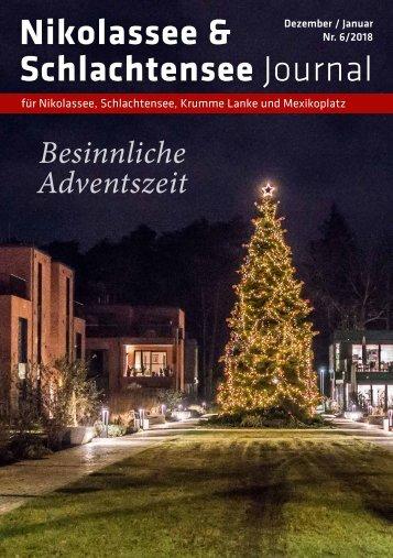 Nikolassee & Schlachtensee Journal Dez/Jan 2018