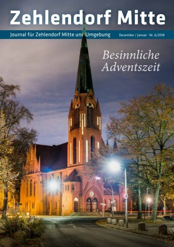 Zehlendorf Mitte Journal Dez/Jan 2018