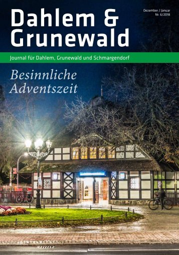 Dahlem & Grunewald Journal Dez/Jan 2018