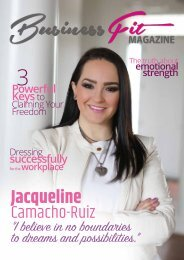 Business Fit Magazine Jacqueline Camacho-Ruiz