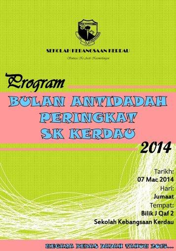 Buku Program Hari Antidadah