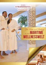 Zeit, Ruhe und Rückzug in eine maritime Wellnesswelt
