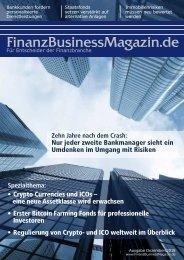 FinanzBusinessMagazin - Crypto Currencies und ICOs – eine neue Assetklasse