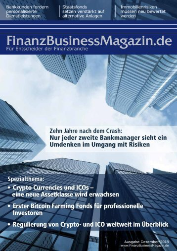 FinanzBusinessMagzin - Crypto Currencies und ICOs – eine neue Assetklasse