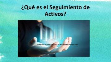 ¿Qué es el Seguimiento de Activos?