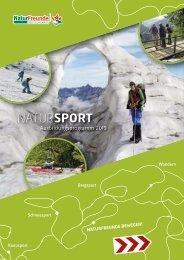 Natursport Ausbildungsprogramm 2019