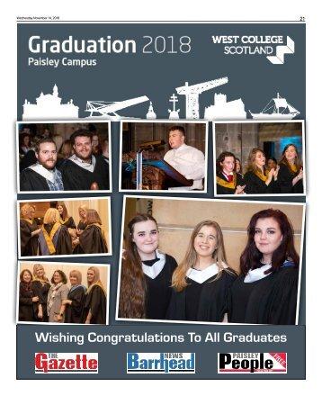 WCS Paisley Graduation Supplement 2018