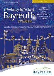 Weihnachtliches Bayreuth erleben 2018