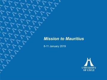 Mauritius PPT