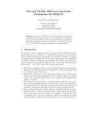 Fast and Flexible Difference Constraint Propagation for ... - Verimag