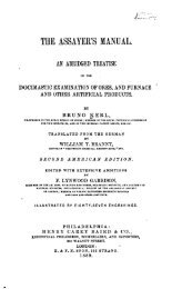 68 The Assayer's Manual 1889
