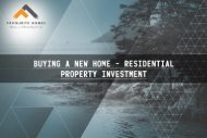 Buying a New Home - Residential Property Investment