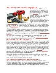 Get Auto Car Loans Perris CA | 951-435-1020