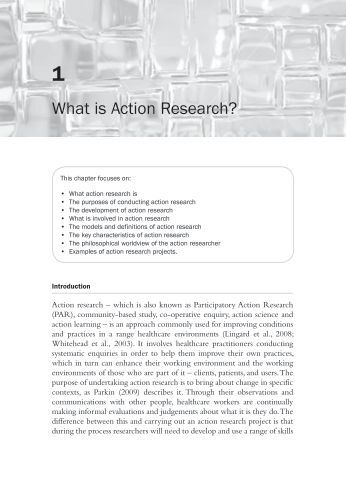 Chapter 1: What is Action Research? - Sage Publications
