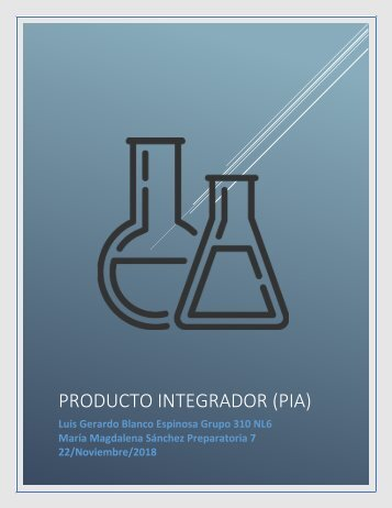 PIA-Química