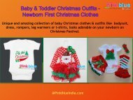 Baby Christmas Clothes & Outfits - Kids Christmas Party Dresses 0 Month To 3 Years