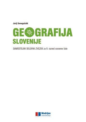 geografija slovenije sdz 001-160
