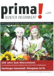 prima! Magazin - Ausgabe Oktober 2011
