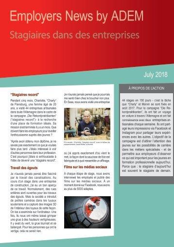 Newsletter Test6 DE FR