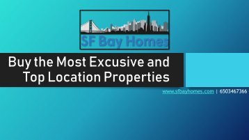 Buy the Most Excusive and Top Location Properties