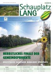 Schauplatz Lang 2018/3