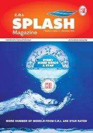 Splash Nov issue